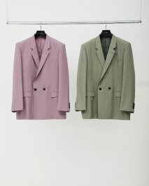 LITTLEBIG  Smokey Semi-Double Jacket(ROSE or GREEN)※2月下旬入荷予約品<img class='new_mark_img2' src='https://img.shop-pro.jp/img/new/icons15.gif' style='border:none;display:inline;margin:0px;padding:0px;width:auto;' />