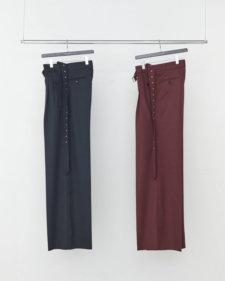 LITTLEBIG  Wide Flare Trousers(BORDEAUX)<img class='new_mark_img2' src='https://img.shop-pro.jp/img/new/icons15.gif' style='border:none;display:inline;margin:0px;padding:0px;width:auto;' />