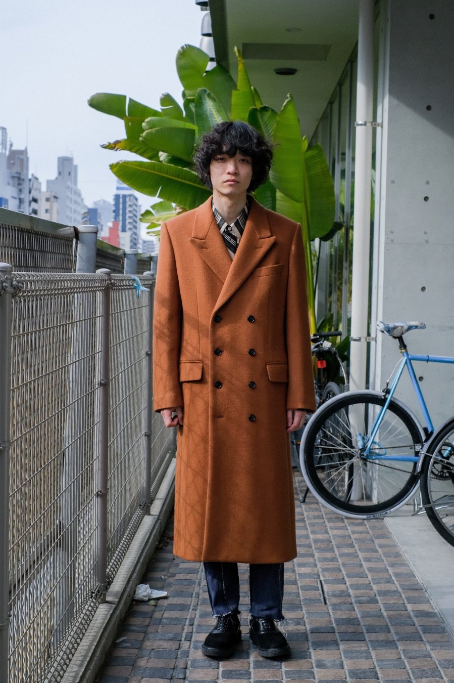 LITTLEBIG  8B Chesterfield Coat(CAMEL)<img class='new_mark_img2' src='https://img.shop-pro.jp/img/new/icons15.gif' style='border:none;display:inline;margin:0px;padding:0px;width:auto;' />