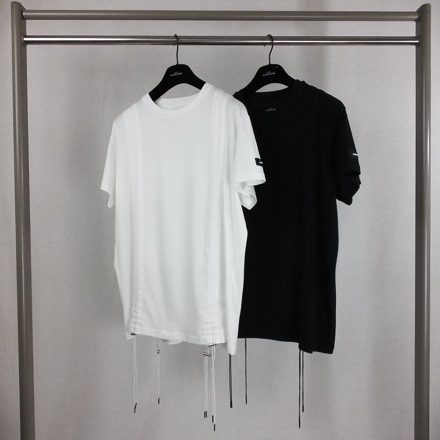 SYU.HOMME/FEMM  Short shrink sleeves(WHITE) <img class='new_mark_img2' src='https://img.shop-pro.jp/img/new/icons15.gif' style='border:none;display:inline;margin:0px;padding:0px;width:auto;' />
