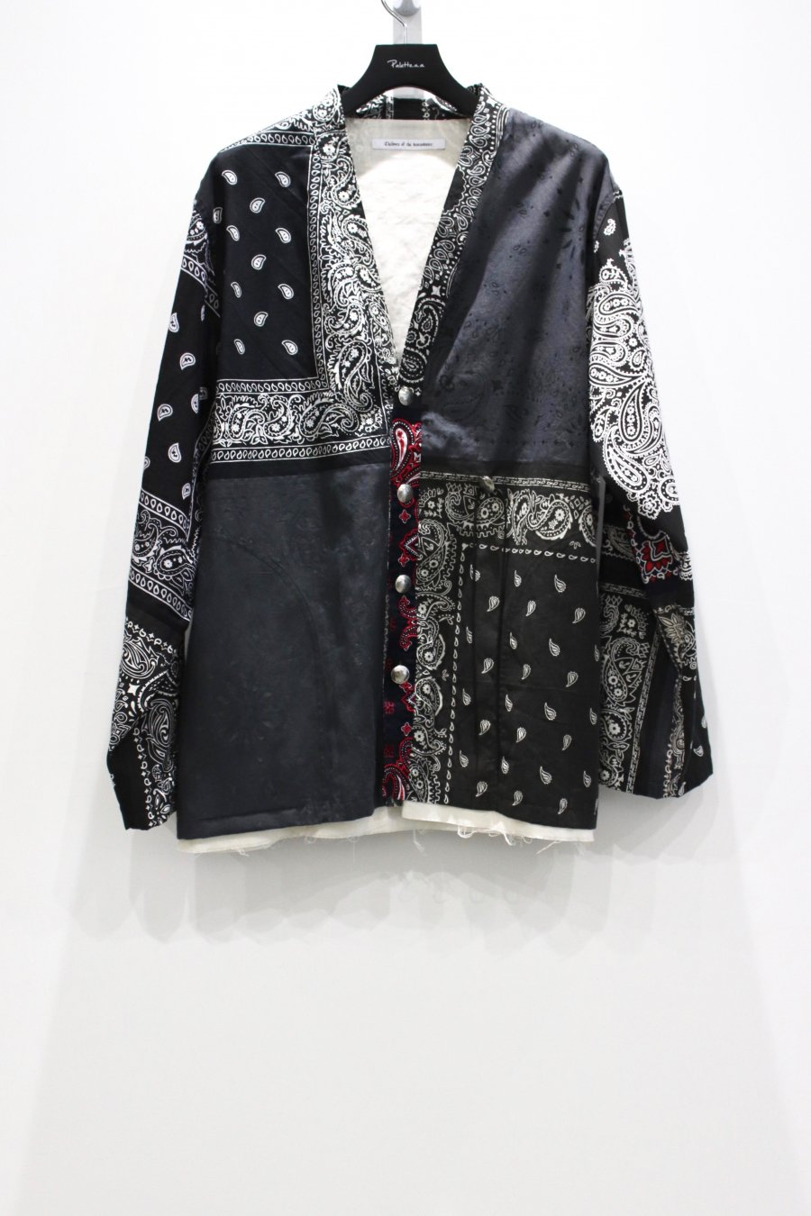 Children of the discordance  BANDANA PATCHWORK CONCHO JACKET(BLACK)<img class='new_mark_img2' src='https://img.shop-pro.jp/img/new/icons15.gif' style='border:none;display:inline;margin:0px;padding:0px;width:auto;' />