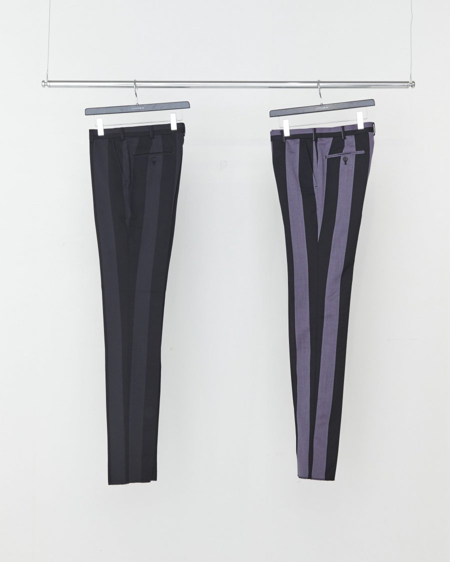LITTLEBIG  Stripe Slim Trousers( Purple Stripe )<img class='new_mark_img2' src='https://img.shop-pro.jp/img/new/icons15.gif' style='border:none;display:inline;margin:0px;padding:0px;width:auto;' />