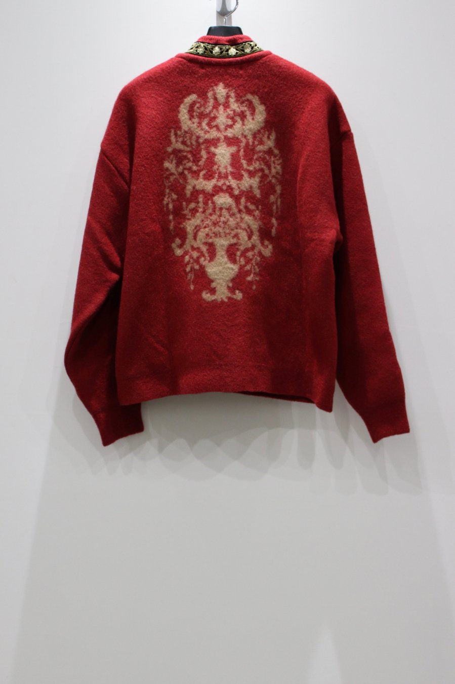 Children of the discordance × PALETTE art alive  ESTONITEX KNIT CARDIGAN(RED)<img class='new_mark_img2' src='https://img.shop-pro.jp/img/new/icons15.gif' style='border:none;display:inline;margin:0px;padding:0px;width:auto;' />