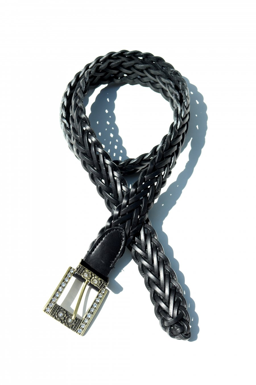 soe  Braid Leather with(BLACK)<img class='new_mark_img2' src='https://img.shop-pro.jp/img/new/icons15.gif' style='border:none;display:inline;margin:0px;padding:0px;width:auto;' />