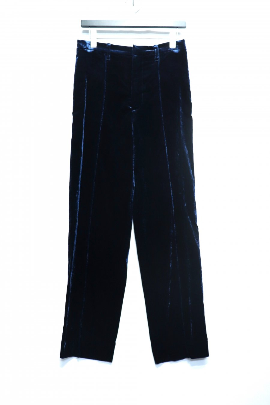 JOHN MASON SMITH  VELOUR EASY SLACKS(MIDNIGHT BLUE)<img class='new_mark_img2' src='https://img.shop-pro.jp/img/new/icons15.gif' style='border:none;display:inline;margin:0px;padding:0px;width:auto;' />