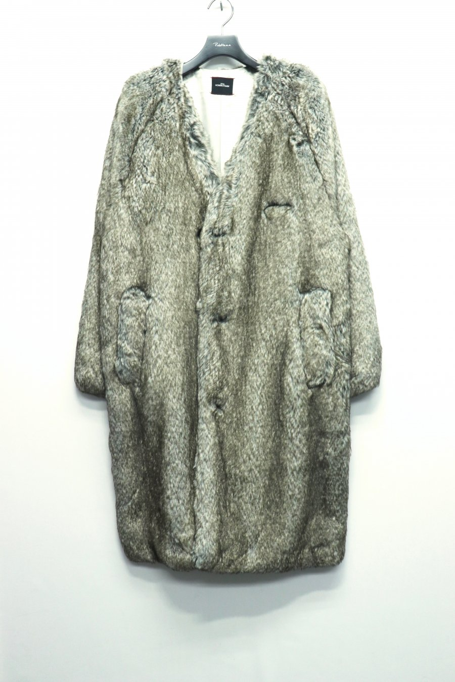 SYU.HOMME/FEMM  Nocollor fur coat to SDGz(Brown)<img class='new_mark_img2' src='https://img.shop-pro.jp/img/new/icons15.gif' style='border:none;display:inline;margin:0px;padding:0px;width:auto;' />