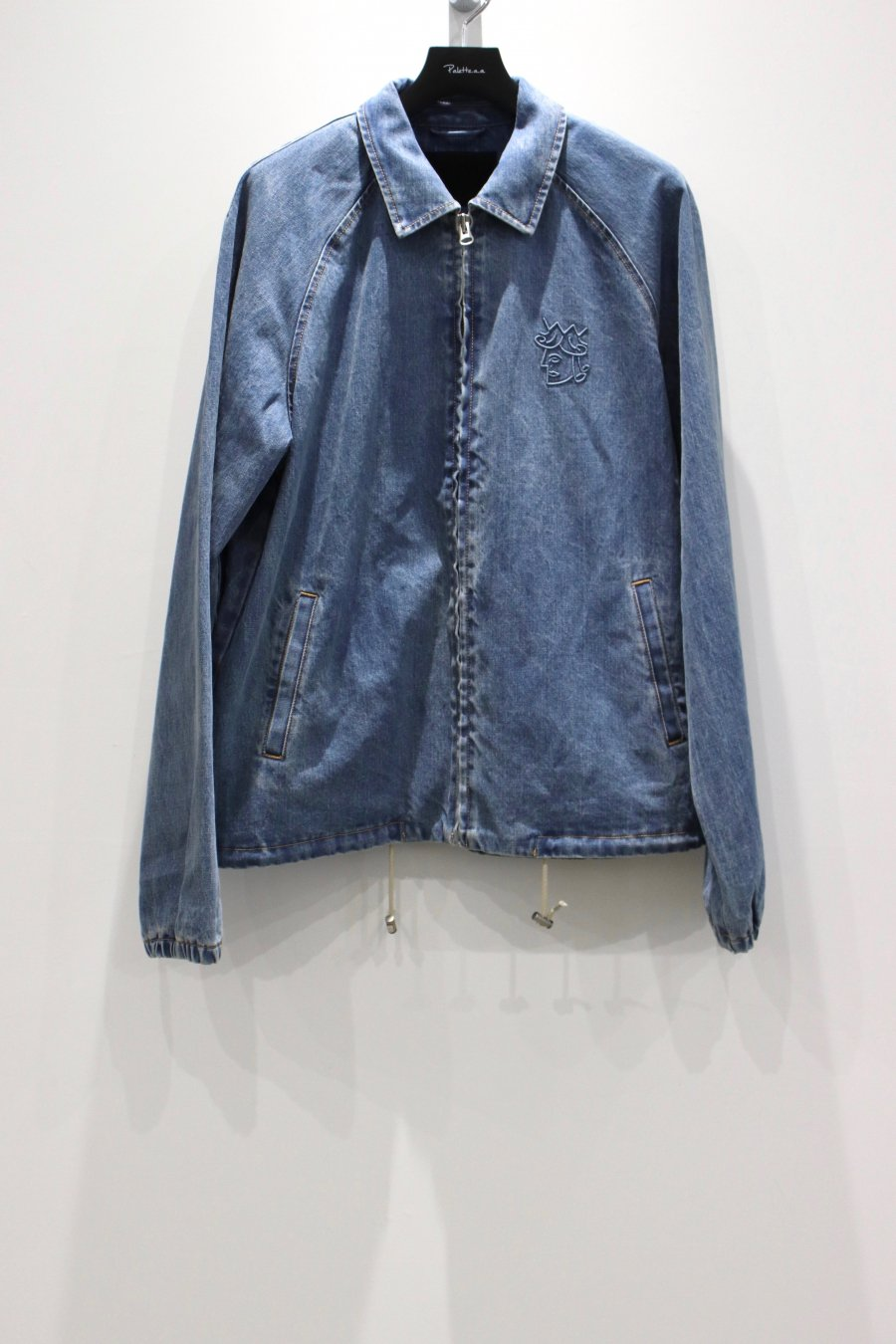 VICTORIA  DENIM COACH'S JACKET<img class='new_mark_img2' src='https://img.shop-pro.jp/img/new/icons15.gif' style='border:none;display:inline;margin:0px;padding:0px;width:auto;' />