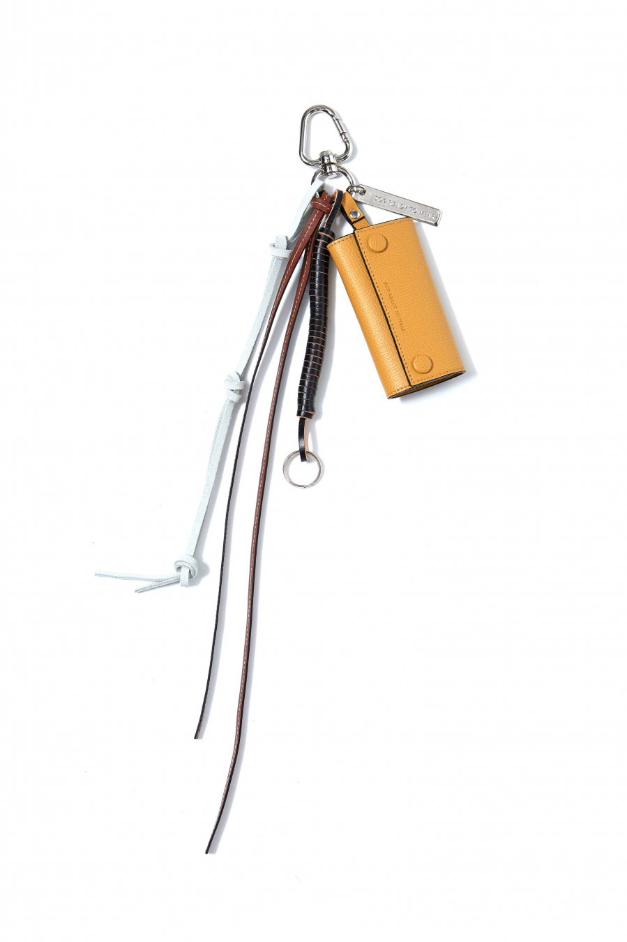 soe  Key Ring With Leather Strap(YELLOW)<img class='new_mark_img2' src='https://img.shop-pro.jp/img/new/icons15.gif' style='border:none;display:inline;margin:0px;padding:0px;width:auto;' />