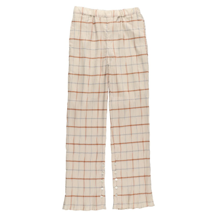 BELPER  PLEATED PANTS(SQUARE CHECK)<img class='new_mark_img2' src='https://img.shop-pro.jp/img/new/icons15.gif' style='border:none;display:inline;margin:0px;padding:0px;width:auto;' />