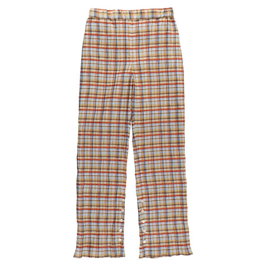 BELPER  PLEATED PANTS(MADRAS CHECK)<img class='new_mark_img2' src='https://img.shop-pro.jp/img/new/icons15.gif' style='border:none;display:inline;margin:0px;padding:0px;width:auto;' />
