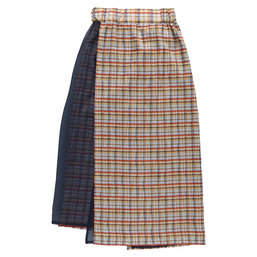 【20%OFF】BELPER  PLEATED SKIRT(MADRAS CHECK)<img class='new_mark_img2' src='https://img.shop-pro.jp/img/new/icons20.gif' style='border:none;display:inline;margin:0px;padding:0px;width:auto;' />