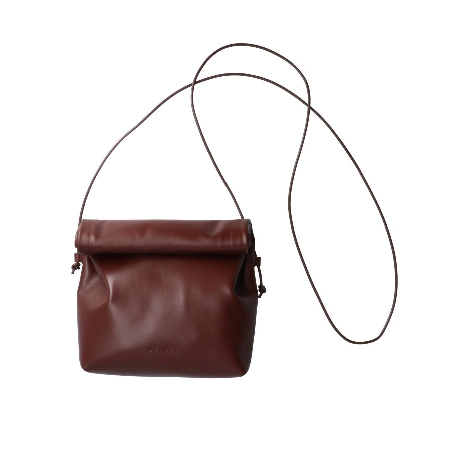 【21AW先行予約】BELPER WALK AROUND BAG(BROWN)※7月入荷予定予約品(4月23日 23:59 締め切り)<img class='new_mark_img2' src='https://img.shop-pro.jp/img/new/icons15.gif' style='border:none;display:inline;margin:0px;padding:0px;width:auto;' />