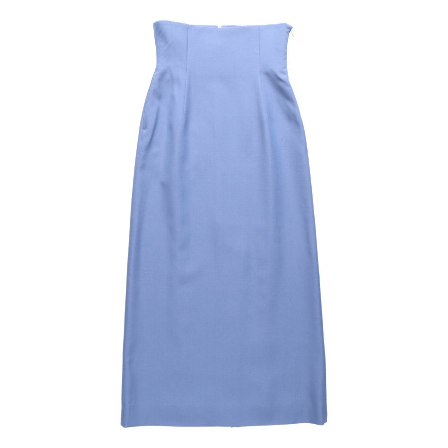 【21AW先行予約】BELPER  HHHIGH WAIST SKIRT(BLUE)※8月入荷予定予約品(4月23日 23:59 締め切り)<img class='new_mark_img2' src='https://img.shop-pro.jp/img/new/icons15.gif' style='border:none;display:inline;margin:0px;padding:0px;width:auto;' />