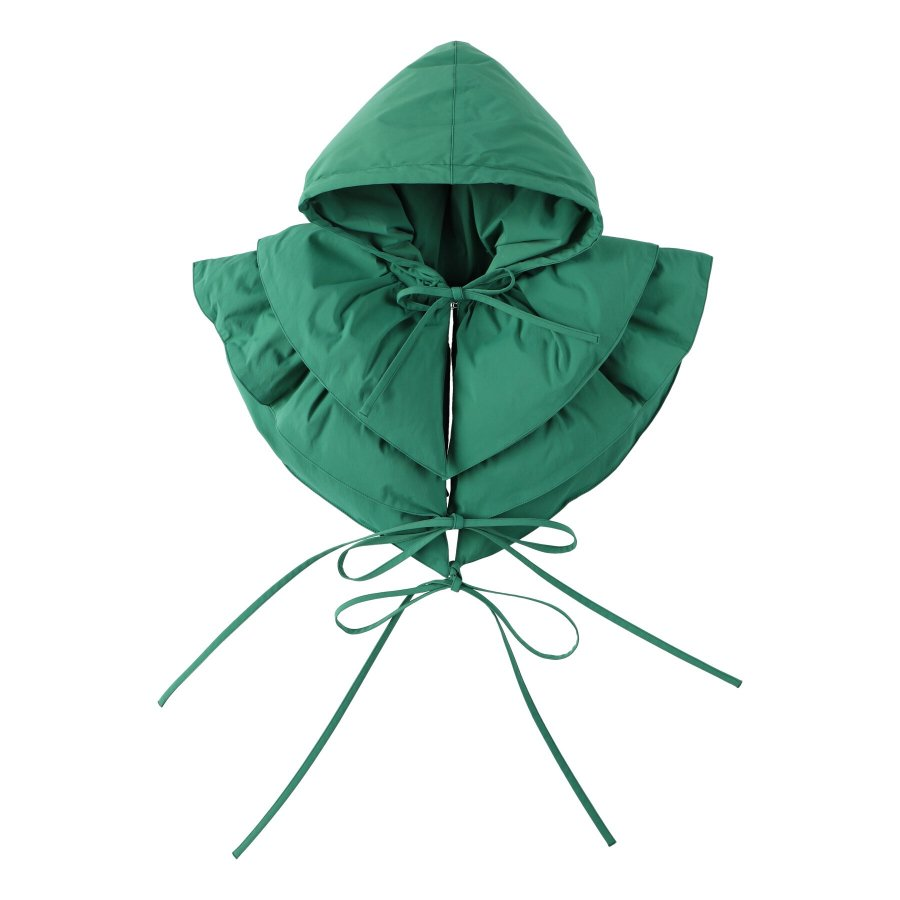 【21AW先行予約】BELPER  ATTACHED DOWN HOOD(GREEN)※9月入荷予定予約品(4月23日 23:59 締め切り)<img class='new_mark_img2' src='https://img.shop-pro.jp/img/new/icons15.gif' style='border:none;display:inline;margin:0px;padding:0px;width:auto;' />