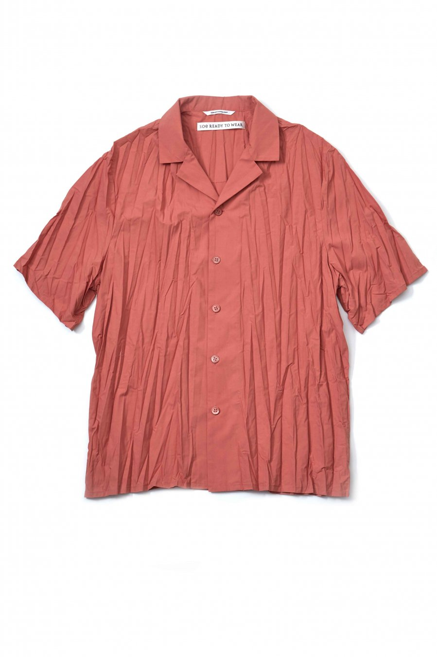 soe  Pleated H/S Shirt(PINK)<img class='new_mark_img2' src='https://img.shop-pro.jp/img/new/icons15.gif' style='border:none;display:inline;margin:0px;padding:0px;width:auto;' />