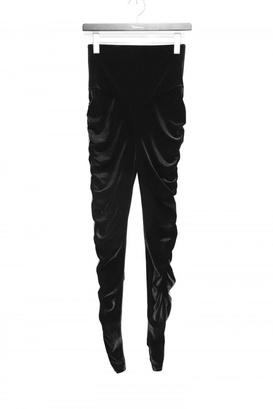 FETICO  Gathered velour leggins<img class='new_mark_img2' src='https://img.shop-pro.jp/img/new/icons15.gif' style='border:none;display:inline;margin:0px;padding:0px;width:auto;' />