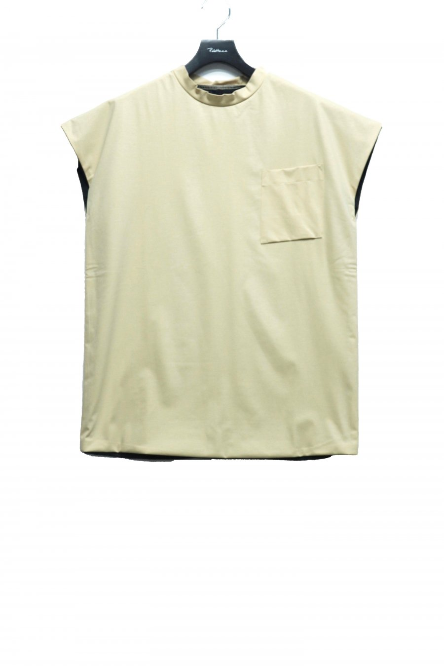 [ー]Minus  DOUBLE FACE NO SLEEVE(BEIGE)<img class='new_mark_img2' src='https://img.shop-pro.jp/img/new/icons15.gif' style='border:none;display:inline;margin:0px;padding:0px;width:auto;' />