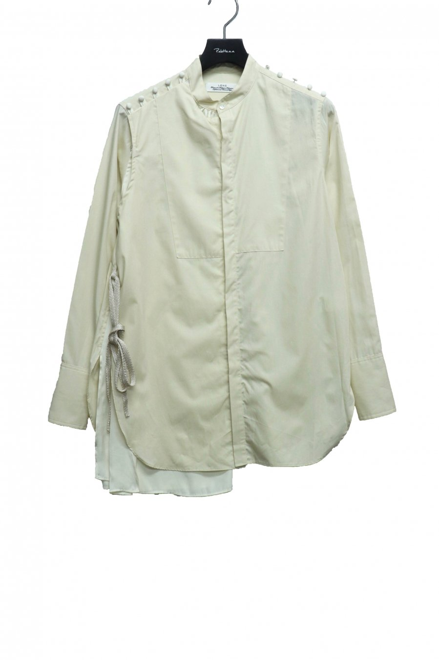 LENZ   2WAY SHIRT(IVORY)<img class='new_mark_img2' src='https://img.shop-pro.jp/img/new/icons15.gif' style='border:none;display:inline;margin:0px;padding:0px;width:auto;' />