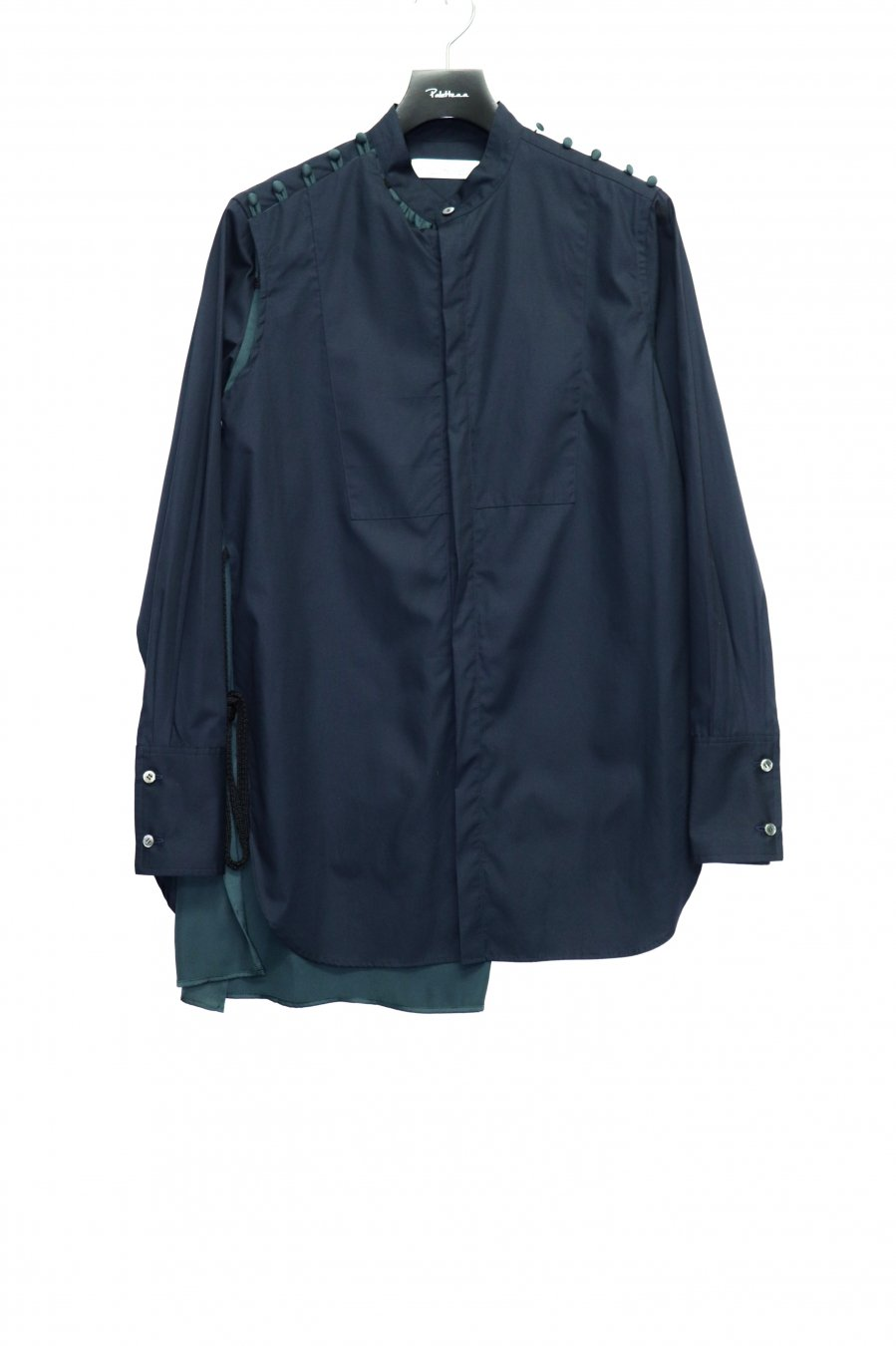 LENZ   2WAY SHIRT(NAVY)<img class='new_mark_img2' src='https://img.shop-pro.jp/img/new/icons15.gif' style='border:none;display:inline;margin:0px;padding:0px;width:auto;' />