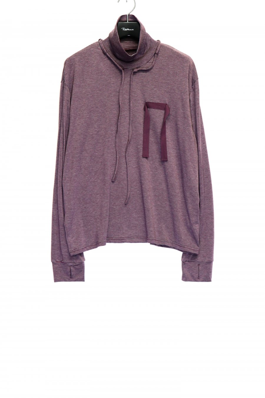 SYU.HOMME/FEMM  Hi-neck long sleeves(PURPLE GRAY)<img class='new_mark_img2' src='https://img.shop-pro.jp/img/new/icons15.gif' style='border:none;display:inline;margin:0px;padding:0px;width:auto;' />