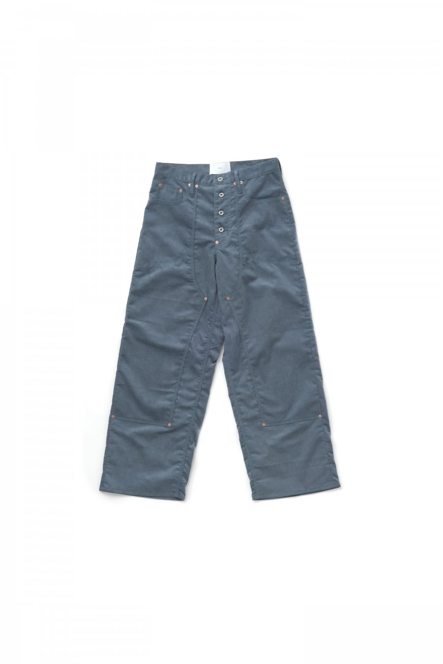 SUGARHILL  CORDUROY DOUBLE KNEE DENIM PANTS(BLUE)<img class='new_mark_img2' src='https://img.shop-pro.jp/img/new/icons15.gif' style='border:none;display:inline;margin:0px;padding:0px;width:auto;' />