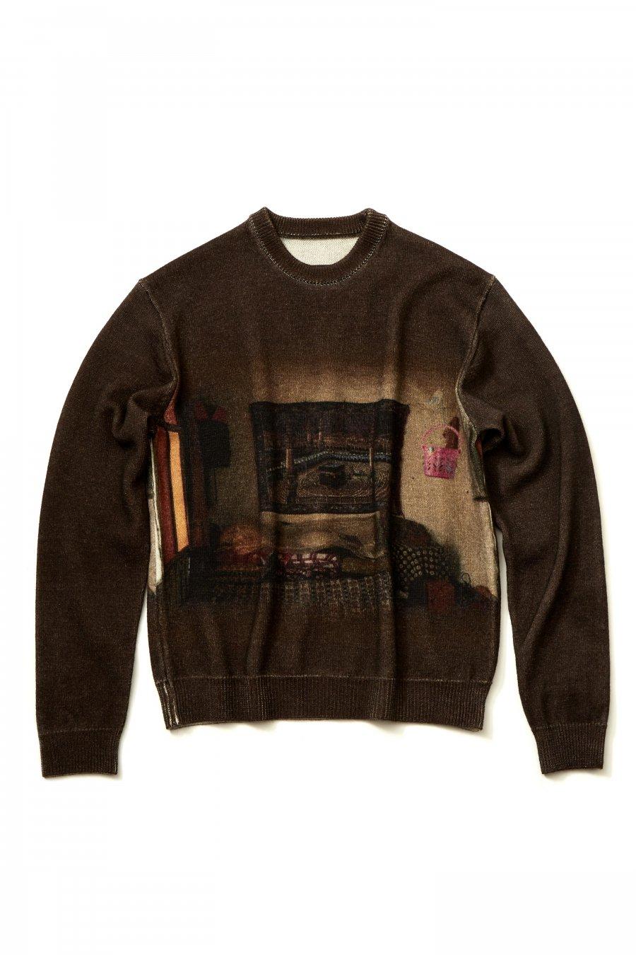 soe  Over Printed Sweater