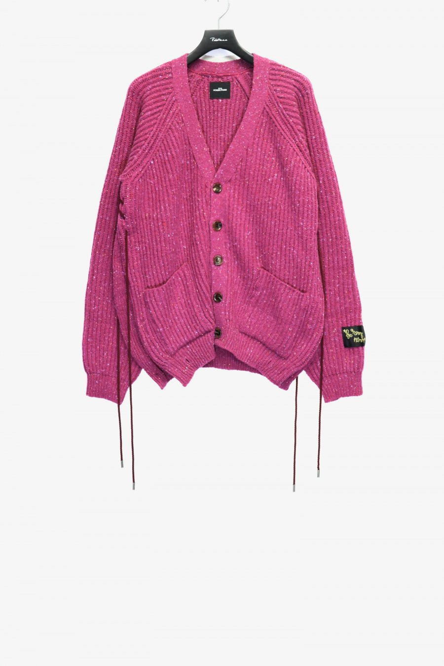 SYU.HOMME/FEMM  Laceup Knit cardigan(PINK)<img class='new_mark_img2' src='https://img.shop-pro.jp/img/new/icons15.gif' style='border:none;display:inline;margin:0px;padding:0px;width:auto;' />