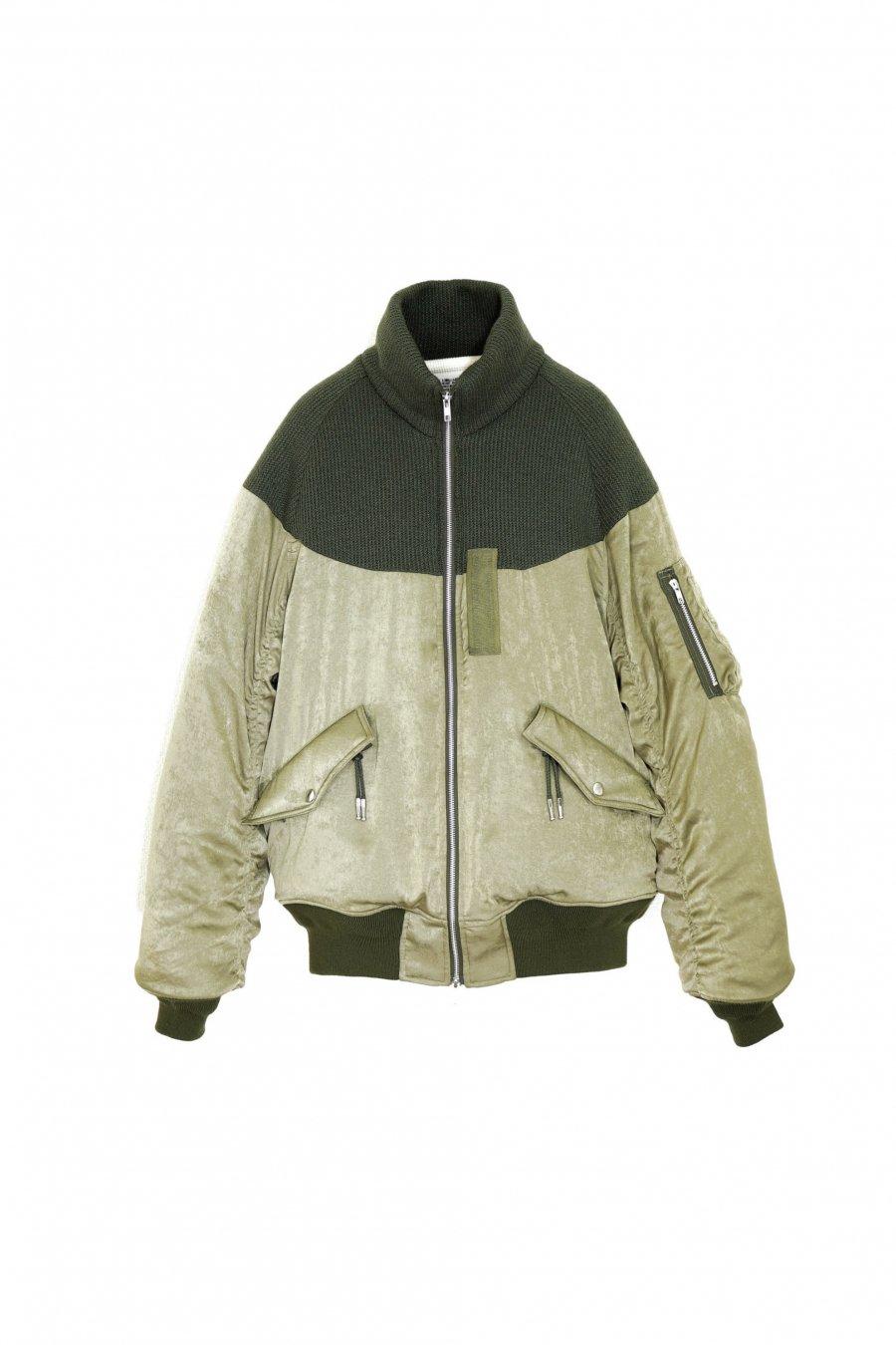 elephant TRIBAL fabrics  Hybrid Bomber JKT<img class='new_mark_img2' src='https://img.shop-pro.jp/img/new/icons15.gif' style='border:none;display:inline;margin:0px;padding:0px;width:auto;' />