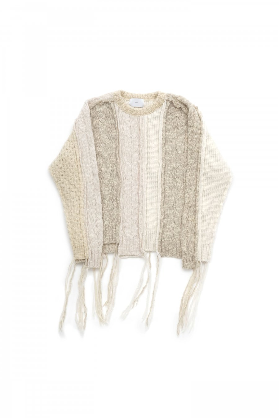 SUGARHILL  MULTICOLOR CABLE BUG KNIT(MULTI-WHITE)<img class='new_mark_img2' src='https://img.shop-pro.jp/img/new/icons15.gif' style='border:none;display:inline;margin:0px;padding:0px;width:auto;' />