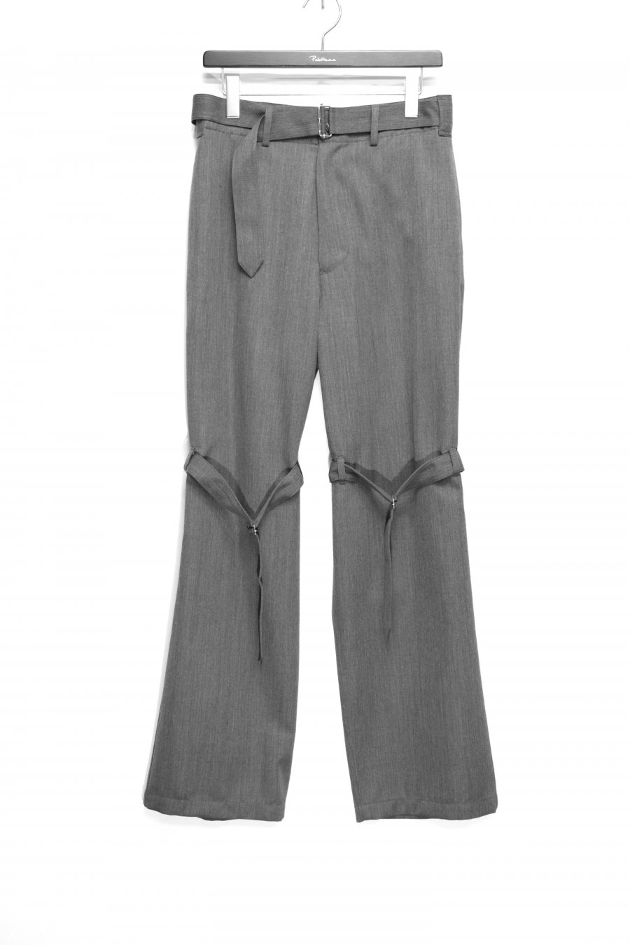 JOHN MASON SMITH  WOOL SATIN FRENCH ARMY OVERPANTS(GRAY)<img class='new_mark_img2' src='https://img.shop-pro.jp/img/new/icons15.gif' style='border:none;display:inline;margin:0px;padding:0px;width:auto;' />