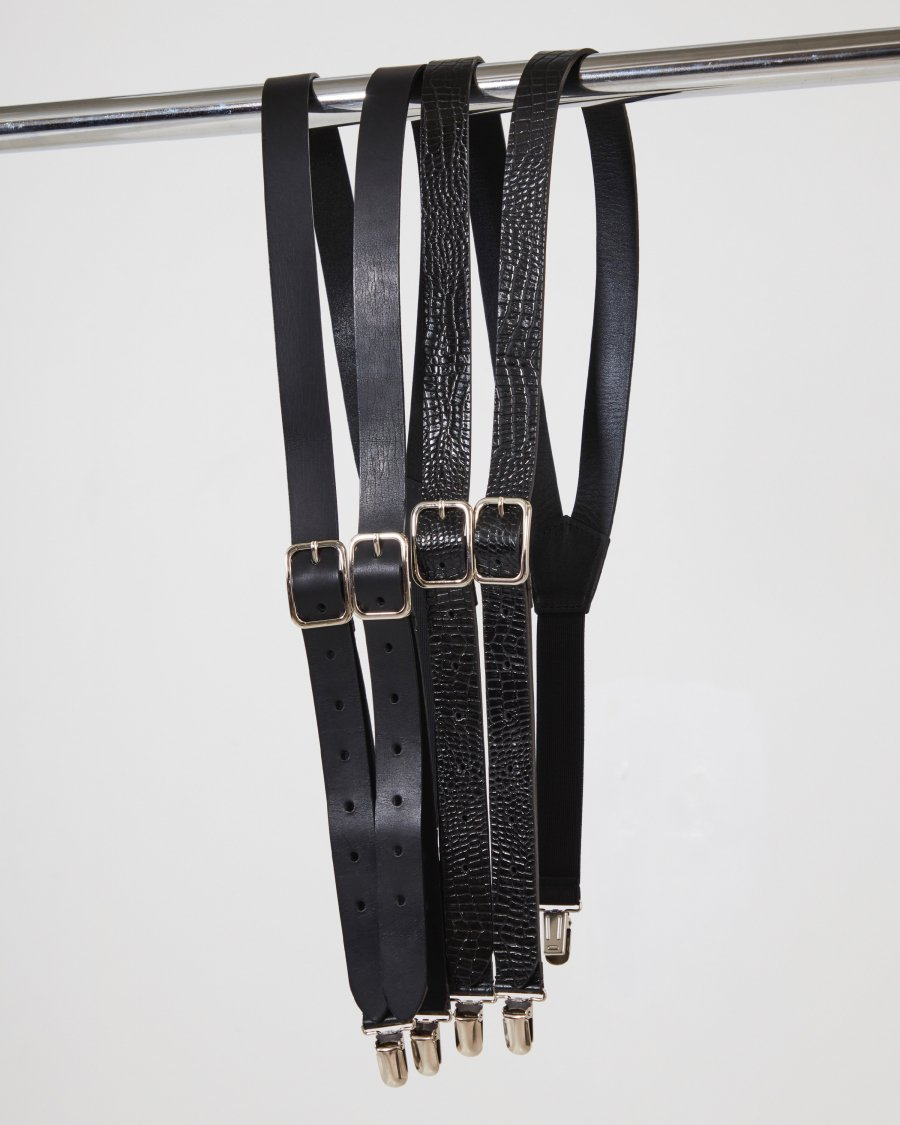 LITTLEBIG  Leather Suspender(Crocodile)<img class='new_mark_img2' src='https://img.shop-pro.jp/img/new/icons15.gif' style='border:none;display:inline;margin:0px;padding:0px;width:auto;' />
