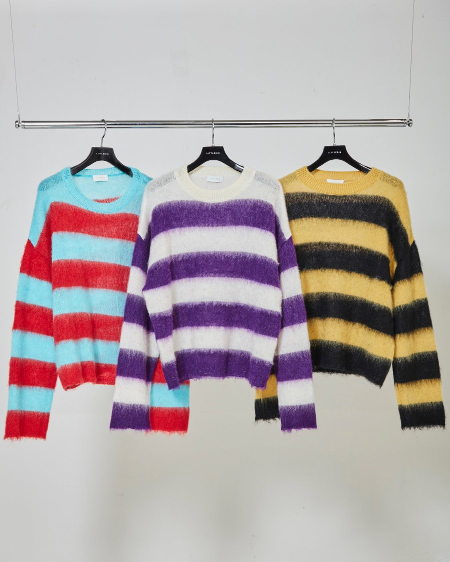 LITTLEBIG  Mohair Knit(Blue or Purple or Yellow)<img class='new_mark_img2' src='https://img.shop-pro.jp/img/new/icons15.gif' style='border:none;display:inline;margin:0px;padding:0px;width:auto;' />