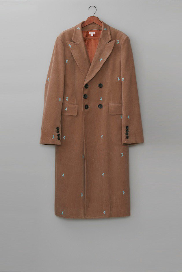 MASU  FIVE BUTTON CHESTERFIELD COAT(BEIGE)<img class='new_mark_img2' src='https://img.shop-pro.jp/img/new/icons15.gif' style='border:none;display:inline;margin:0px;padding:0px;width:auto;' />