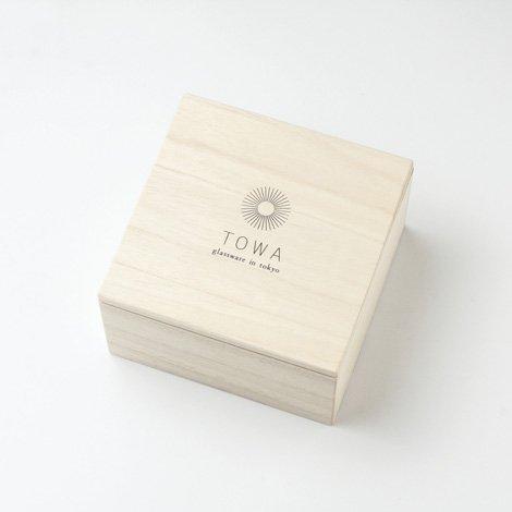 TOWA 江戸切子 鉢 十草