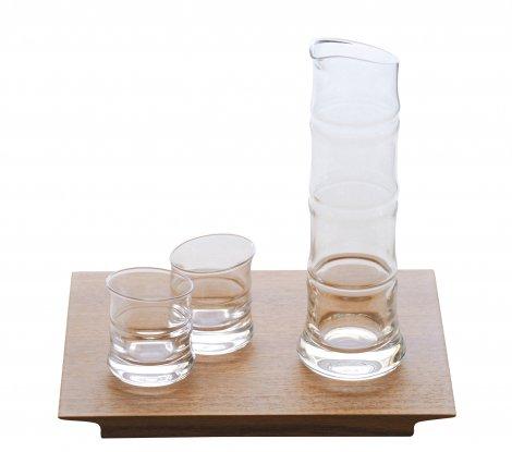 氷竹 酒器三点揃+板皿