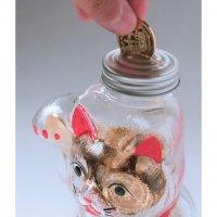 招き猫の貯金箱