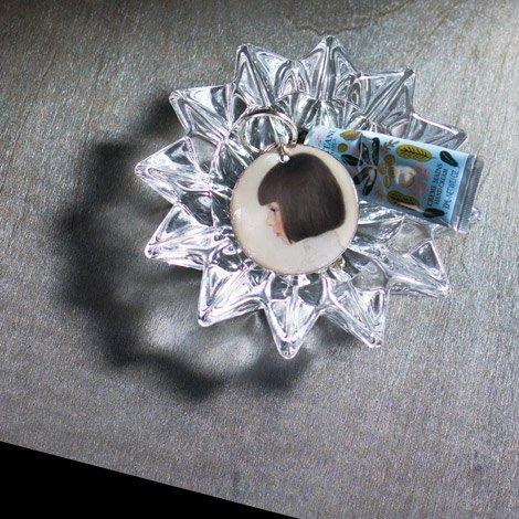 北壁 灰皿 S 透明