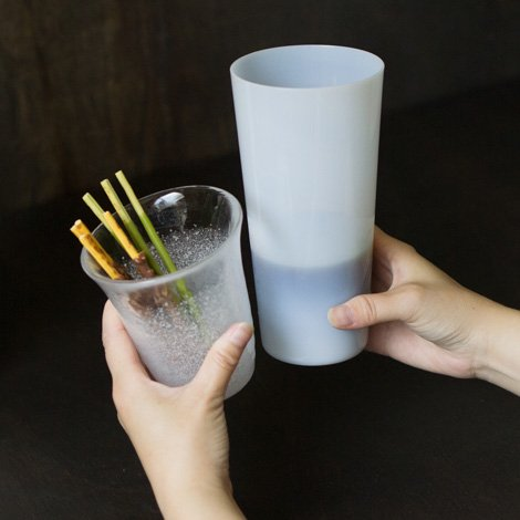 北海道ミルクグラス V (Lサイズ)