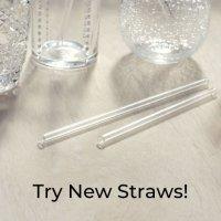 Try New Straws! ガラスストロー プレゼントキャンペーン