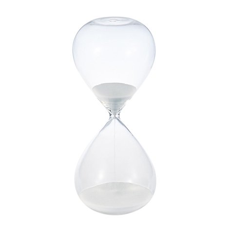 砂時計 60分 白