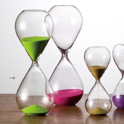 砂時計 30分 ライトグリ−ン
