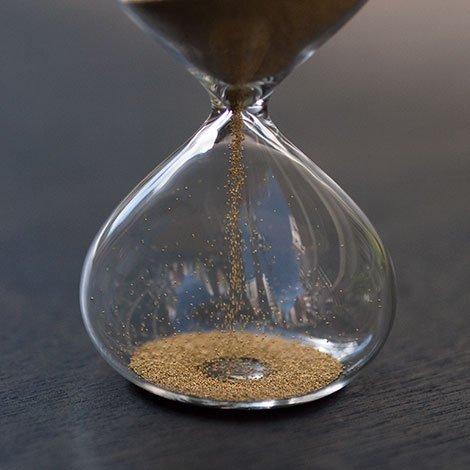 砂時計 1分 金メッキ