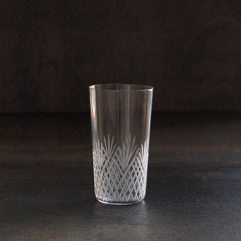 東京復刻ガラス BRUNCH 格子 5オンスタンブラー