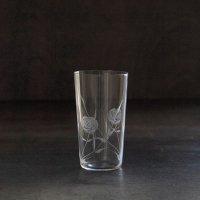 東京復刻ガラス BRUNCH 薔薇 5オンスタンブラー