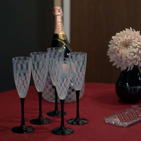 大正浪漫 フルートワイン 市松