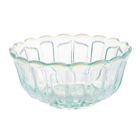 雪の花 洗鉢 ブルー