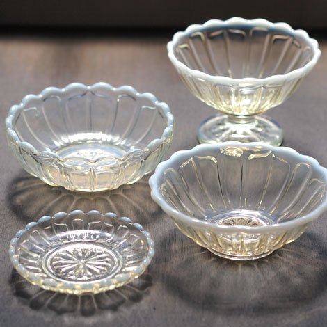 雪の花 洗鉢 古代色