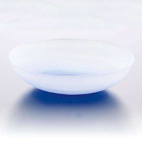 吹雪 豆皿 ブルー