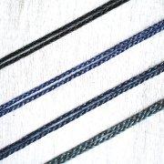 【マクラメ】ワックスコード紐 ネックレス 75cm