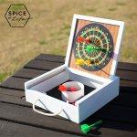 SPICE OF LIFE FESTA HOME マグネット式ミニダーツ&バッグトスゲーム インドアやアウトドアで遊べるレトロ